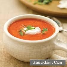 شوربة الطماطم الطريقة الايطالية شوربة