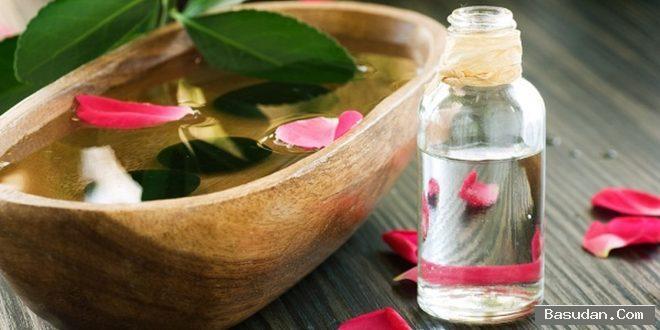 وصفة النشاء وماء الورد للمسام