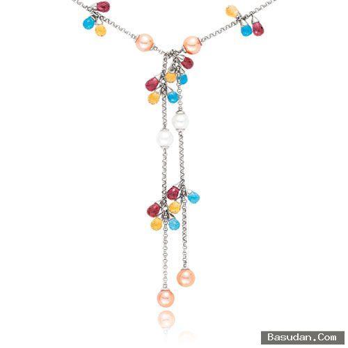 مجوهرات باللون الابيض 2017 اجمل