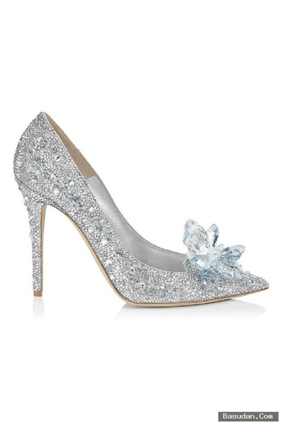 أحذية للعروس جميلة 2017 أحذية