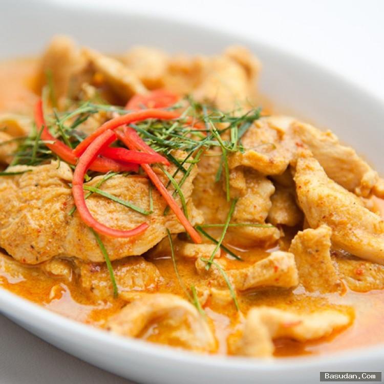 وصفة الدجاج بالكاري وجوز الهند