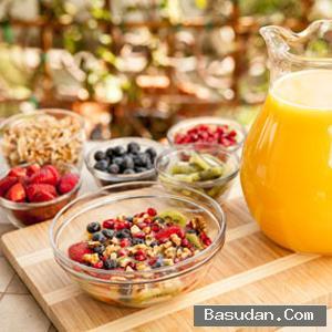 سلطة الفواكه للعناية بالبشرة وصفة