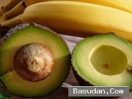 ماسك الموز الأفوكادو للبشرة ماسك