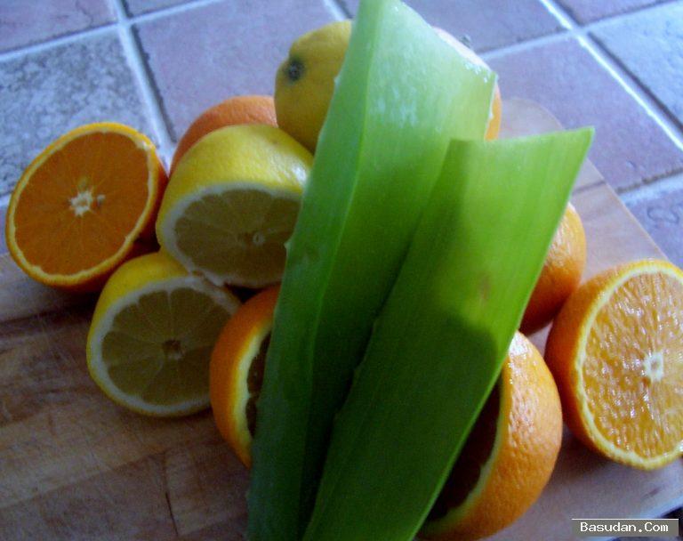 طريقة تحضير سبراي البرتقال والصبار