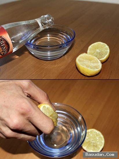 غسول الورد والليمون طريقة غسول