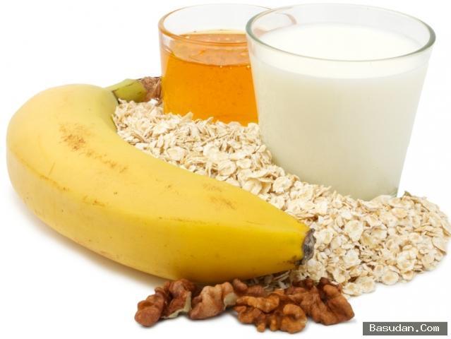 ماسك الموز والشوفان لتجاعيد البشرة