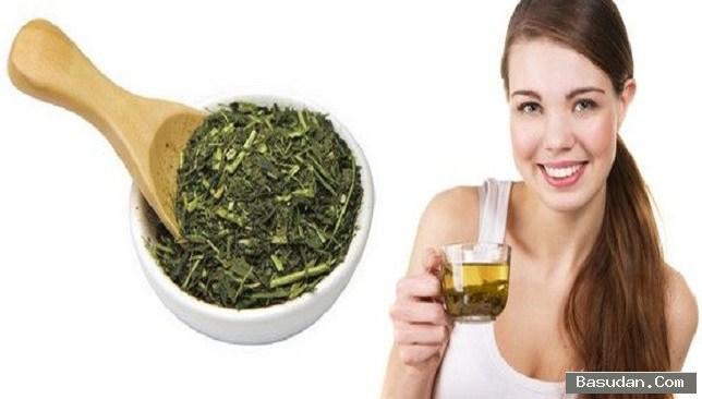اهمية الشاي الاخضر للشعر وصفات