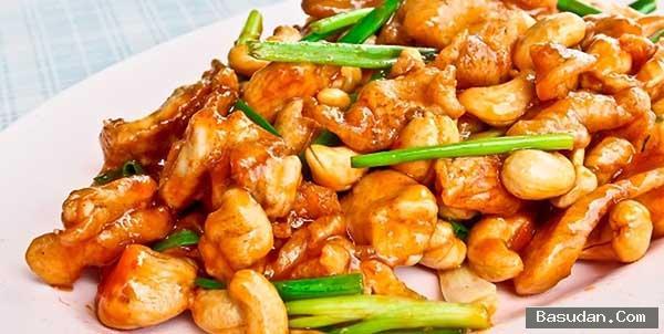 دجاج صيني بالكاجو طريقه تجهيز