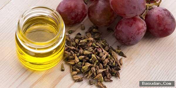 بذور العنب للشعر المتساقط فوائد