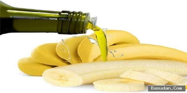 الموز للشعر الزيتون وصفه الموز