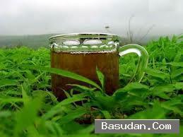 غسول الشاي الأخضر للبشرة الشاي
