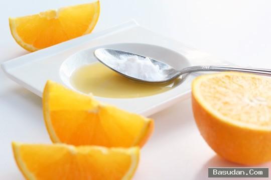 البرتقال لتقشير البشرة سكراب البرتقال