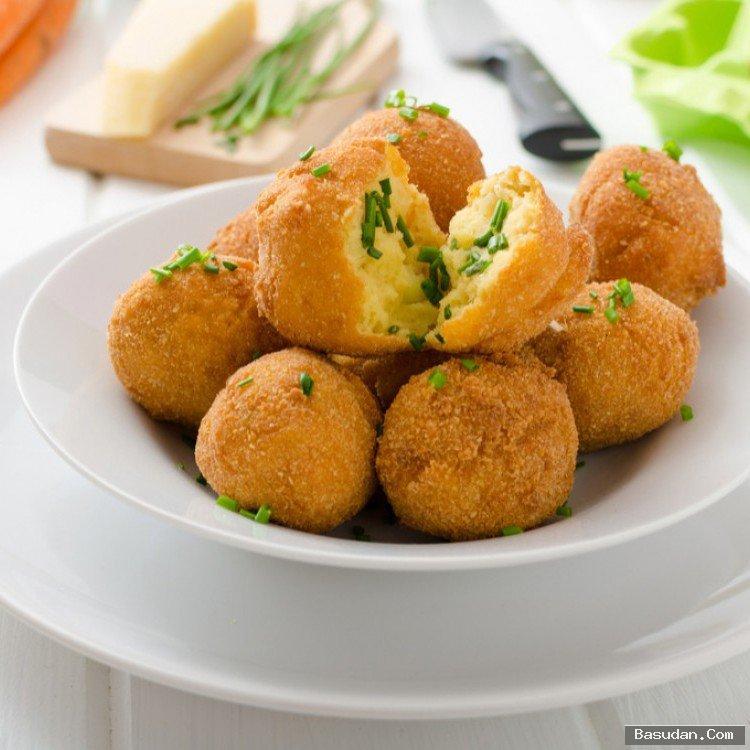 طريقة تحضير كرات البطاطس المقلية