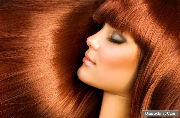 ترطيب الشعر المصبوغ