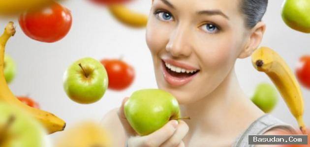 القيمة الغذائية التفاح