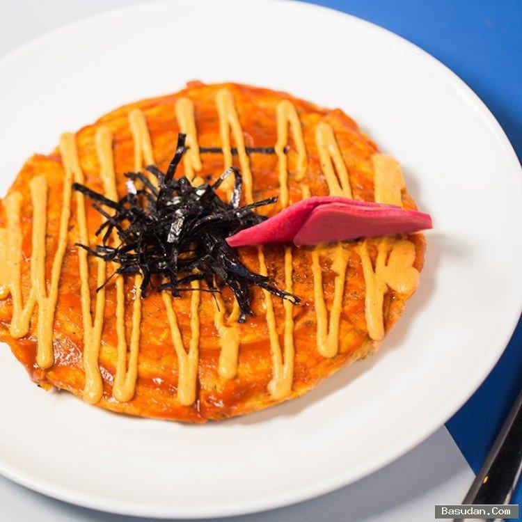 فطيرة الخضراوات اليابانية بالخطوات طريقة