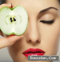 اجمل قناع التفاح لعلاج انواع