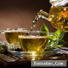 علاج وطبيعي بالشاي الأخضر