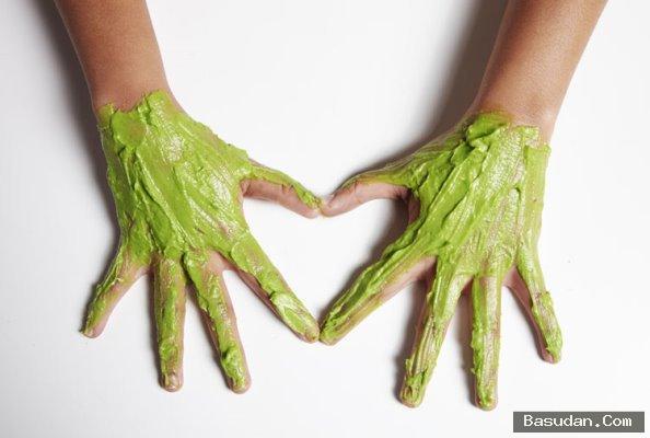 ماسك سريع لتبييض اليدين
