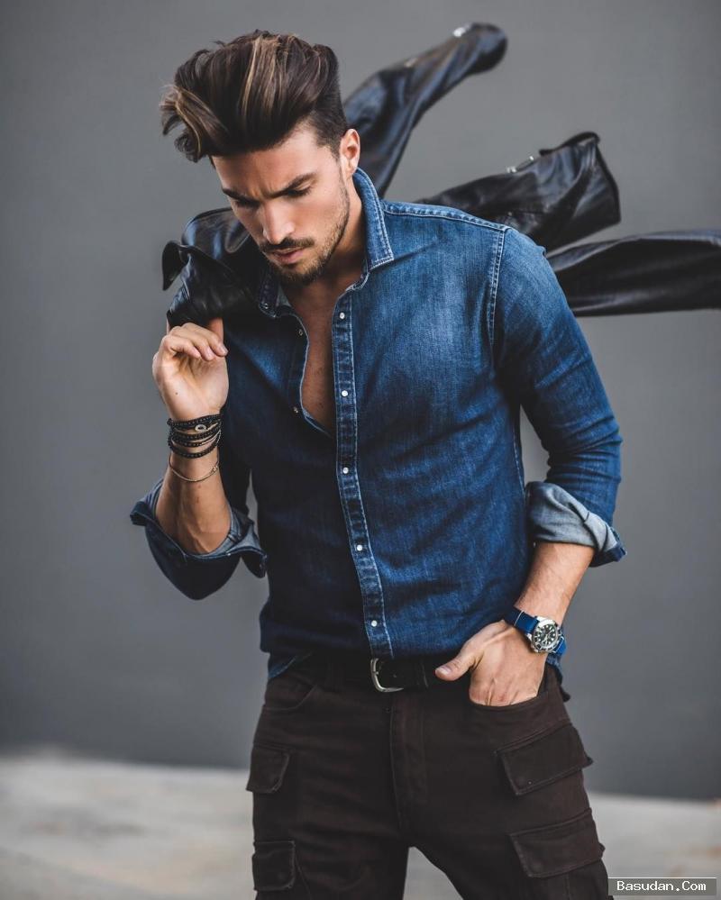 أساليب متنوعة لارتداء قميص الدنيم