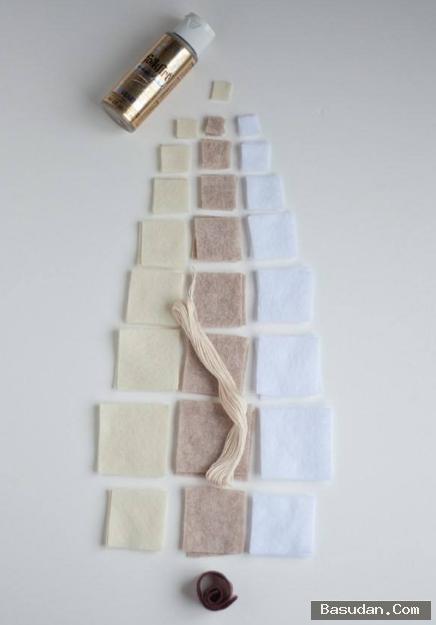 طريقة شجرة الكريسماس بأقل تكلفة
