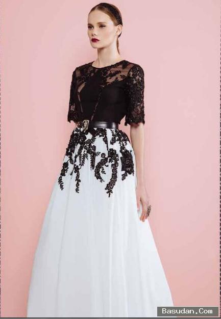 أجمل فساتين وصيفه العروسه فستان