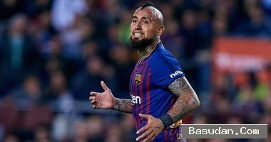 برشلونة يرفض إعارة فيدال لإنتر